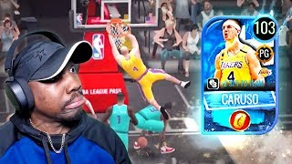 I CREATED GOLDEN TICKET ALEX CARUSO! NBA Live Mobile 20 Season 4 Pack Opening Gameplay Ep. 50