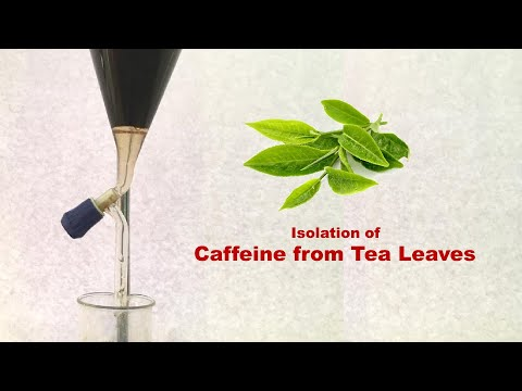 Extraction And Isolation Of Caffeine From Tea Leaves In Lab (In ENGLISH)