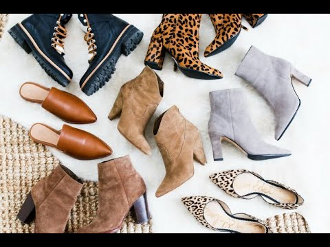 d2996a2a5faa4 FALL SHOE EDIT  ALL THE SHOES BOOTS I LL BE WEARING THIS FALL - YouTube