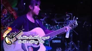 Em không quay về(live) - JG một chặng đường - Hoàng Tôn + Vân Chi(guitar) + Hiền Lê(Cajon)