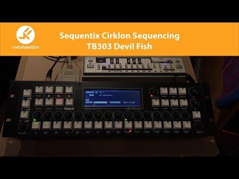 Sequentix Cirklon Sequencing Roland TB303 with Devil Fish Mod