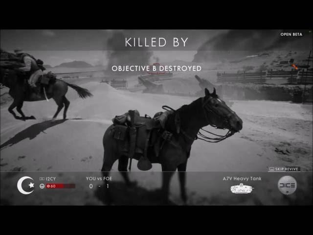 #03 Battlefield 1 Peguei a arma de fogo e olha no que deu