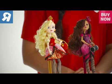 Ever After High Royal And Rebel Dolls Demo - Toys R Us 2013 Hot Toys For Christmas