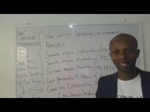 Digital Marketing Training Video In Ibadan Oyo State Nigeria