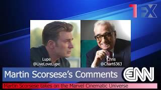 Exile Network News (ENN No.4): Martin Scorsese Disses Marvel Movies!