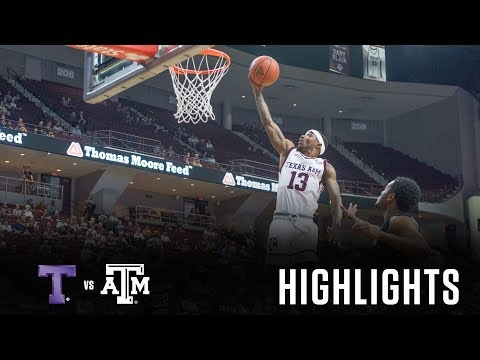 Men's Basketball: Highlights   A&M 72, Tarleton State 46