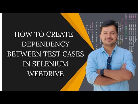 How to create Dependency Between Test Cases in Selenium WebDriver