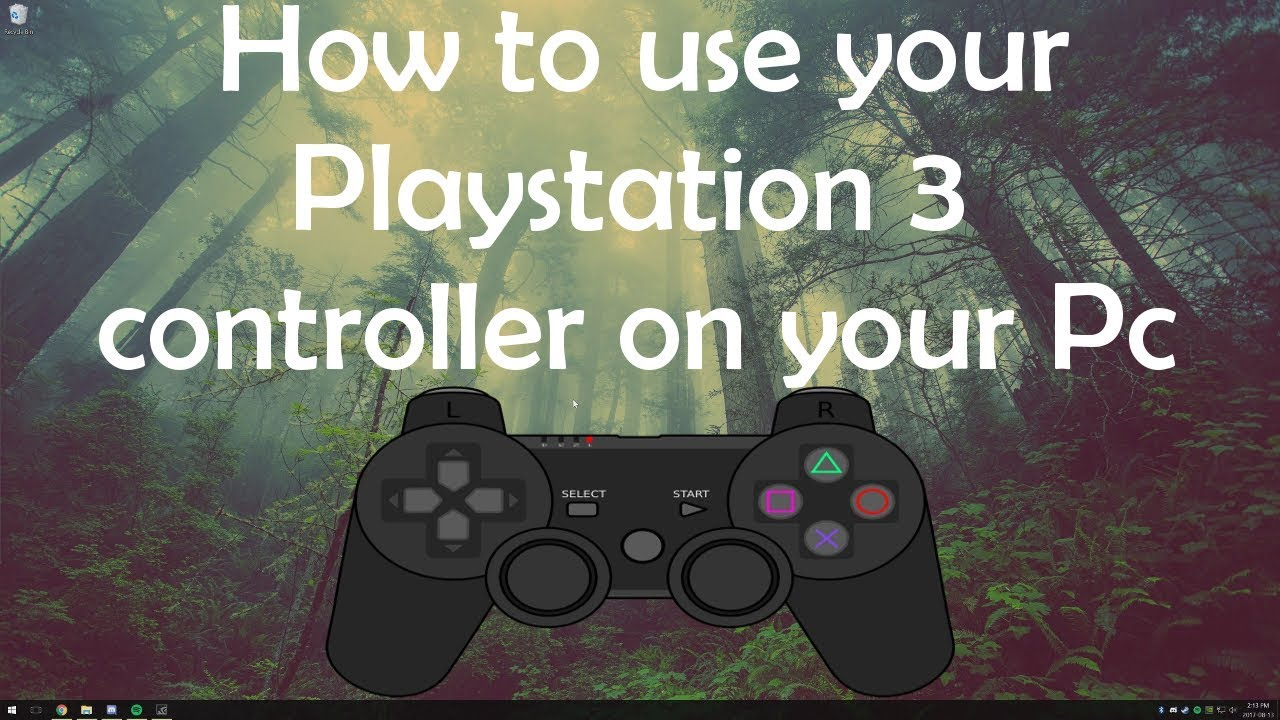 can you use ps3 wireless controller on pc