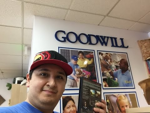 VIDEO GAME & MOVIE HUNTING at GOODWILL