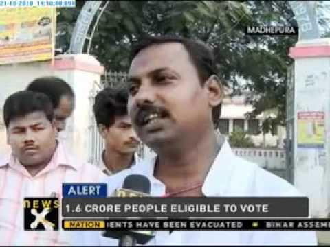 Moderate voting in 1st phase of Bihar polls