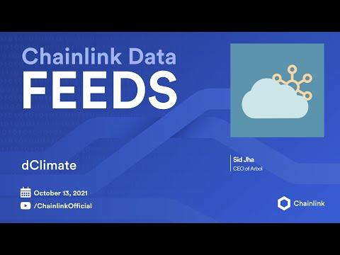 Chainlink Live   dClimate: Blockchain Climate Data for InsurTech