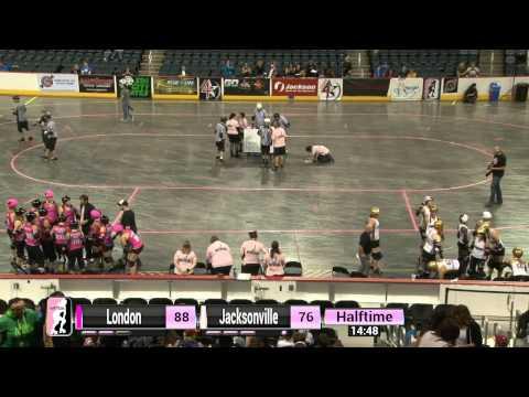 WFTDA Roller Derby: 2014 Division 1 Playoffs, Evansville: London vs. Jacksonville