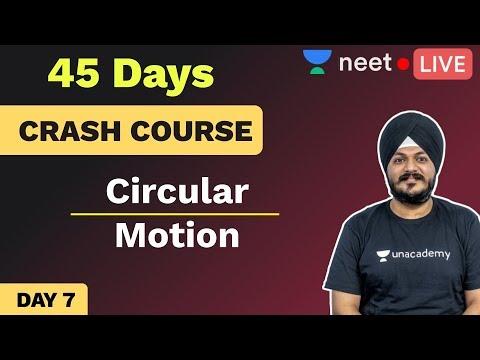 NEET 2020: 45 Days Physics Crash Course | Day 7 | Circular Motion | Unacademy NEET | Indrajeet Sir