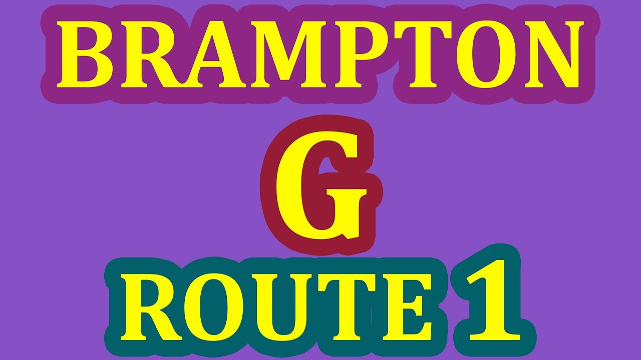 Brampton G Driver's Test Route - Pass Your G Exam On 1st Attempt - Step By Step Guide