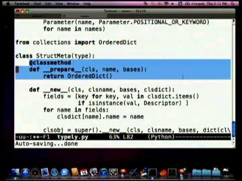 Python 3 Metaprogramming