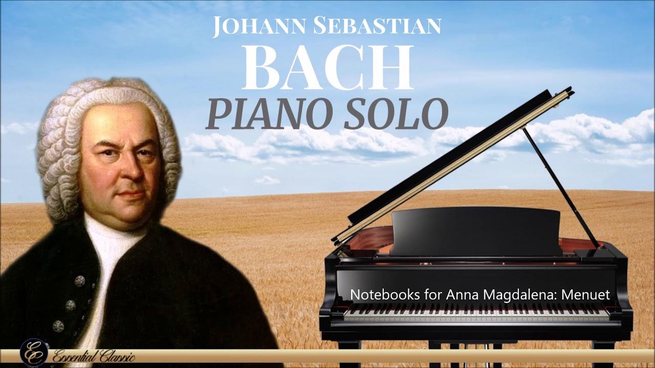 Bach – Piano Solo