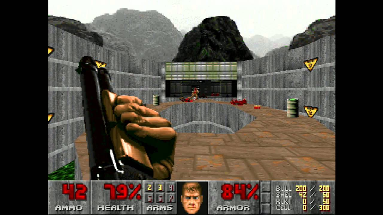 First-person shooter game released in 1993 by id Software ...