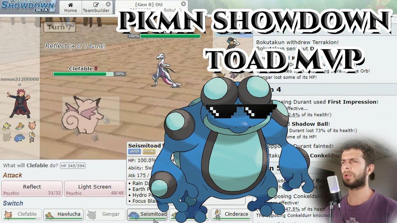 ALL OUT SEISMITOAD - Pokemon Showdown 8th Generation - YouTube
