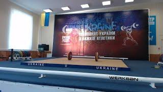 Чемпіонат України з важкої атлетики серед студентів 2018. В/к +105 кг