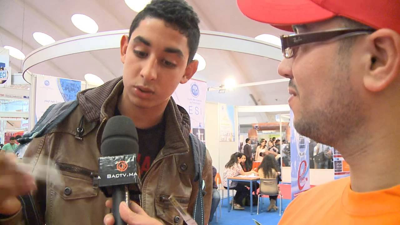 bactv au forum international de l'etudiant