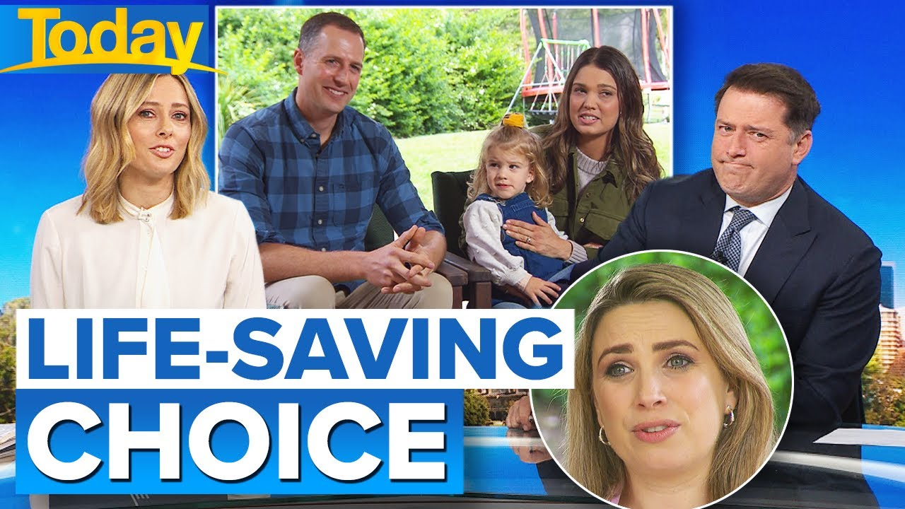 Brisbane family left with a difficult organ donation choice   Today Show Australia