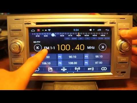 Штатная автомагнитола Witson Ford Kuga/Focus/Fiesta/Fusion (W2-F9488F) Android