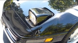 How to change the headlight motor gear in a C4 Corvette