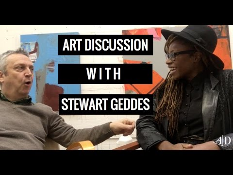 Art Discussion: Adelaide Damoah in Conversation with Stewart Geddes
