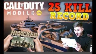 Call Of Duty: Mobile | 25 KILLS | Hijacked Map