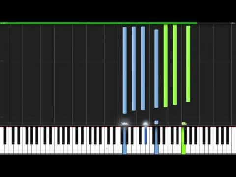 Path of The Wind - My Neighbor Totoro [Piano Tutorial] (Synthesia)