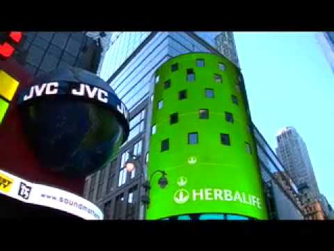 Herbalife Montreal independant Distributor C. Arthur-at Wall Street, New York