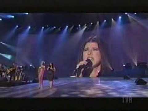 Celine Dion and Marie Thibert - Quand On A Que L'amour live