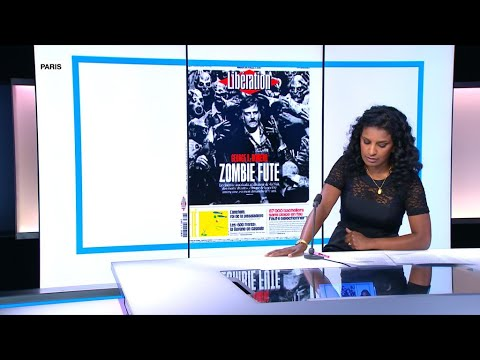 Libération pays tribute to George Romero, 'Zombie master for life'