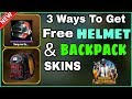 HOW TO GET FREE HELMET AND BACKPACK SKIN IN PUBG MOBILE - FREE HELMET SKIN PUBG | Tech Joriya