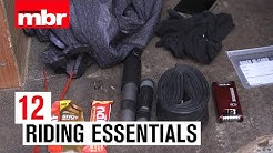 Don't leave w/o these | 12 Riding Essentials | Mountain Bike Rider