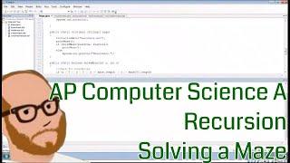 Informatik AP - Rekursion - ein Labyrinth Durchqueren