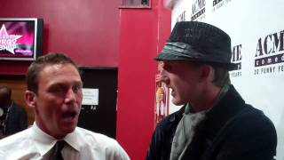 EZ & White Lighter on Charmed Brian Krause on Acme Red Carpet Good Interview! Exclusive