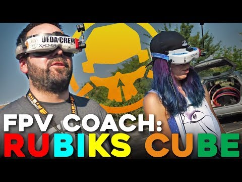 FPV Coach: Rubik's Cubes with VORT3X & Little Stellar Fox