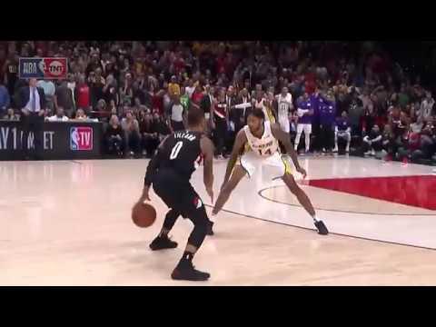 Damian Lillard's Amazing Game Winning 3 Vs Lakers!