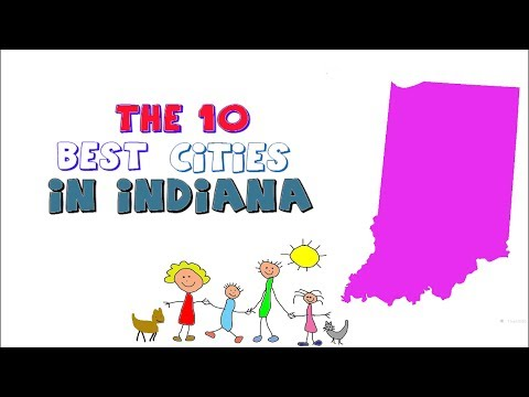 THESE Are the 10 BEST CITIES to live in INDIANA
