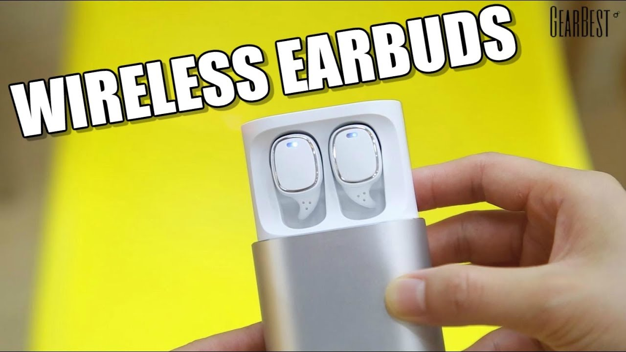 0f7c4a69a66 Touch-Control Wireless Earbuds QCY T1 Pro TWS - GearBest - YouTube