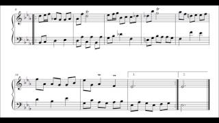 J S Bach French Suite no 4 in E flat  BWV 815  Minuet and Air Perahia