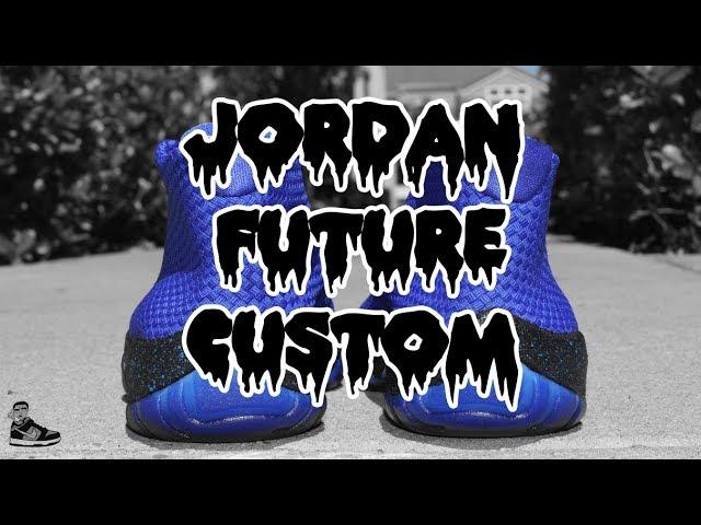 YOU CAN MAKE JORDAN 1 ROYAL BLUE ON NIKE ID (SCOOP208) YouTube