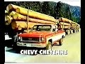 Chevy Cheyenne Truck Commercial (1973)
