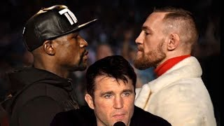 FLOYD MAYWEATHER PUNCHES HARDER THAN CONOR MCGREGOR SAYS CHAEL SONNEN