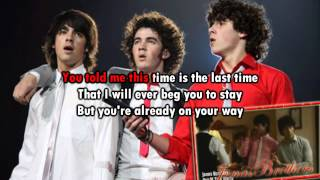 Karaoke Sorry Jonas Brothers Instrumental