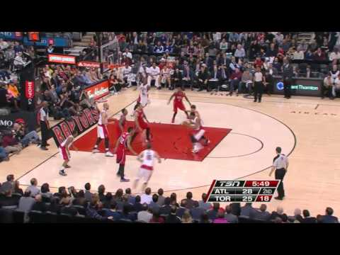 Atlanta Hawks vs Toronto Raptors | February 12, 2014 | NBA 2013-14 Season