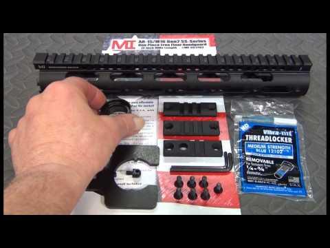 The MI Gen 2 SS Free Float Handguard