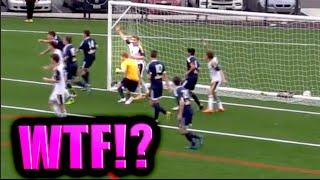 WTF CRAZY HAND BALL!?? | IRL SCHOOL FOOTBALL / SOCCER SEASON (ep. 2)