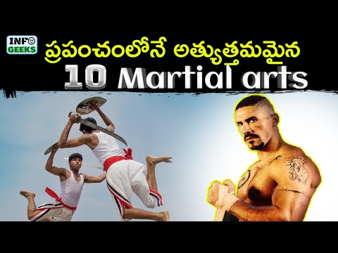 10 Most Powerful Martial Arts In The World | Explained In Telugu | Info Geeks